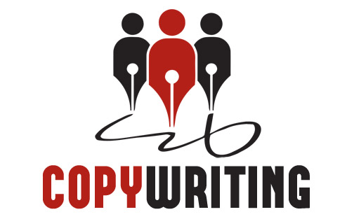 Copy writing logo